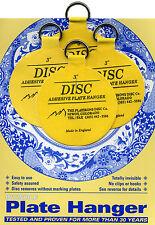 "Original Disc Adhesive Plate Hangers Set of 4x3"""