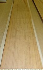 """Wormy Chestnut wood veneer 8.25"""" x 47"""" raw no backing 1/32"""" thickness """"A"""" grade"""
