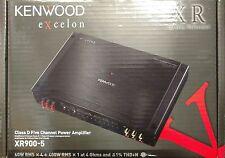 Kenwood Excelon XR900-5 Class D 900 Watts RMS 5-Channel Car Amplifier