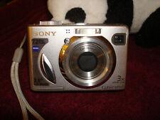 Sony Cyber-Shot DSC-W7 7.2MP Digital Camera - Silver