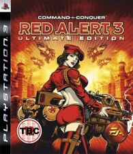 Command & Conquer: red Alert 3-Ultimate Edition (PS3 Juego) * Muy Buenas Cond. *