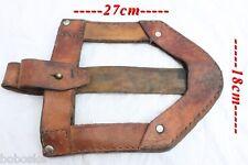 Porte-Pelle en cuir militaire origine inconnue (Peut être Allemand)