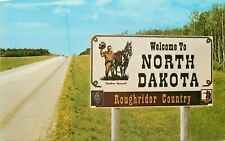 ETATS UNIS north dakota roughrider country