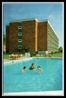 Lexington Virginia Howard Johnson Motel Pool Scene Postcard