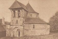 G2068 France - Saint-Bonnet-la-Rivière - L'église ronde - Stampa - 1932 print