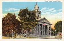 Bucyrus Ohio Court House Exterior Linen Antique Postcard K28336
