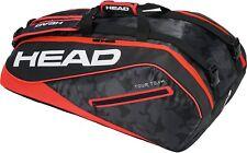HEAD Tour Team 9 Supercombi racquet racket tennis bag - Black/Red - Auth Dealer