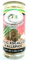 Jamaica Country Style (JCS) Garlic, Escallion & Allspice Seasoning, 4 oz 113g