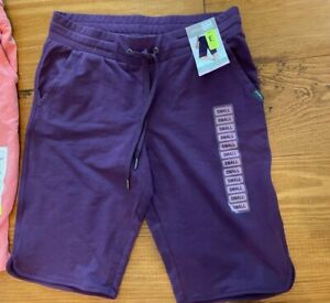 Eddie Bauer french terry drawstring bermuda shorts- different colors & sizes NWT
