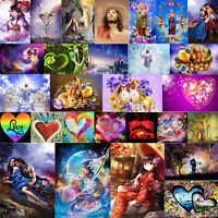 5D DIY Diamond Painting Easter Religion Cross Stitch Embroidery Mosaic Art Decor