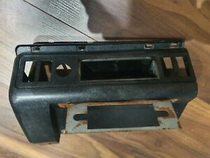 MK2 ESCORT RS2000 MEXICO GHIA GENUINE FORD NOS HEATER COVER SWITCH PANEL BLACK