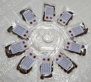 10 pks Sunflower Seed Wedding Favours