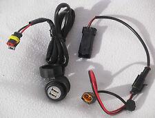 Ducati-Multistrada 1200 CTEK Ladegerät Batterie-Spezial Ladekabel+USB-Steckdose