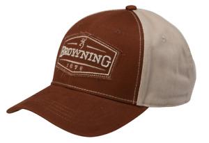 Browning Atlus Brick Tan Hat Cap