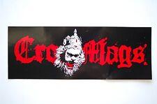 Cro Mags Sticker Decal (468) Punk Rock Metal Car Sticker Window Bumper