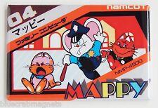 Mappy Famicom FRIDGE MAGNET (2 x 3 inches) video game box nes