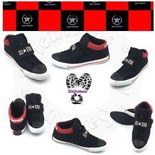 Converse Chuck Taylor High Street All Star Strap Mid Black/Red M9