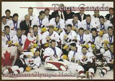 2002 TEAM CANADA HOCKEY SCI GOLD OLYMPIC CARD MINT CONDITION