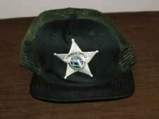 POLICE BASEBALL CAP HAT SHERIFF'S OFFICE MARION COUNTY  NEW