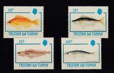 D. Fische  Meerestiere  Tristan Da Cunha  526 - 29  **  (mnh)