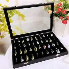 100 Earring Ring Display Box Holder Jewellery/Necklace Storages Gift Ring Case