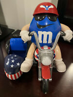 M&M's Red White & Blue Freedom Rider Biker Trike Motorcycle Candy Dispenser