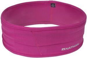 Nathan Hipster Running Belt - Waist Pack Lightweight Bounce Free - 4 Pockets