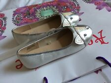 MONSOON ACCESSORIZE GIRL CAT BALLERINA PARTY SHOES UK 2 EUR 34