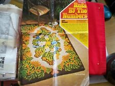 New listing Hooked Rug pattern,#4822, 1972 Vintage Columbia-Minerva Rugs by The Numbers 4x6