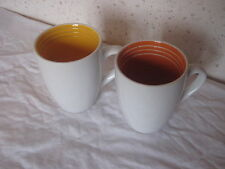 Lot de 2 Tasses Mugs 8,5 cm de diamètre par 10,5 cm de haut