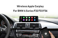 Wireless Apple Carplay Module Android auto For BMW 4 Series F32 NBT system