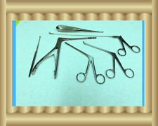 New 6 Arthroscopy Arthroscopic Sinoscopy Rhinoscopy Instruments Set  Stainless