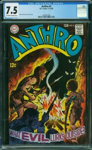 Anthro #3 CGC 7.5 *-* HOWIE POST Story, Cover & Art *-* DC COMICS NOV-DEC 1968
