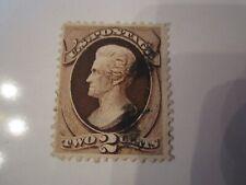 1873 U.S. STAMP SCOTT 157 - TWO CENT
