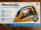 Power XL Cordless Iron & Steamer 2-in-1 Lightweight Ergonomic Design NEW in box photo