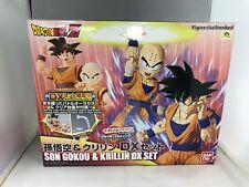 Figure Rise Standard Dragon Ball Son Goku & Kuririn DX Set Color Coded Plastic M