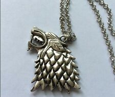A Song of Ice and Fire/Game of Thrones House Stark Sigils pendant necklace