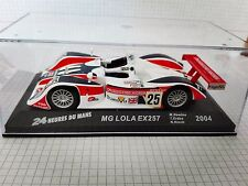 MG LOLA EX257  24 HORAS LEMANS   2004  1/43 NEW