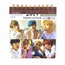 BTS 2018 Mini Photo Calendar Bangtan Boys DNA HER WINGS JungKook Jimin J-Hpoe