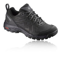 Salomon Evasion 2 LTR Mens Black Outdoors Walking Camping Lace Up Shoes Trainers