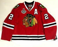DUNCAN KEITH CHICAGO BLACKHAWKS 13 CUP CANADA EDGE AUTHENTIC REEBOK JERSEY 7287A