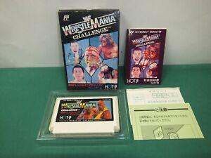 NES -- WWF Wrestlemania Challenge -- Famicom, Japan Game. 11008-2