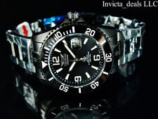 Tresod Men's Ocean Master AUTOMATIC Triple Black Sapphire Crystal 300M SS Watch