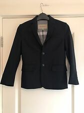 Boys Burberry Black Wool Blazer Jacket Age 8 Years