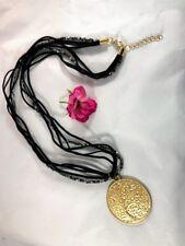 Necklace Ladies Oversize Tree of Life Pendant Gold European Stylish Ethnic