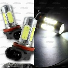 2X 6000K H8 H9 H11 16Watt 10-LED White Projector Bulbs Daytime Fog Lights Bulbs