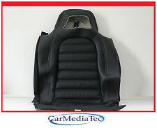Original VW Scirocco 1K8 Leder schwarz 1K8885805ALYCX Lehnenbezug Neu Rücksitz