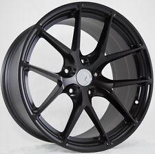 19X8.5 +15 AodHan LS007 5X114.3 Black Wheels Fit SUBARU WRX STI WAGON BREMBO