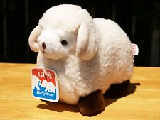 """BABYTIME GUND - WHITE RAMSEY THE LAMB - 9"""" - #3320 - 1982 - NEW - ALL TAGS"""