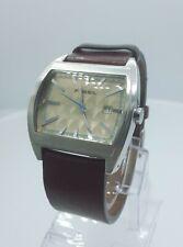 Fossil Authentic JR8118 men's watch brown vintage look JR-8118 analog 5 ATM